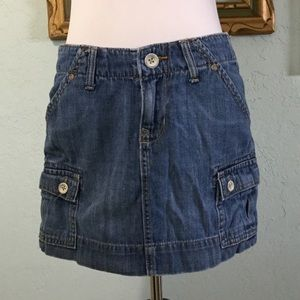 Old Navy denim skirt mini